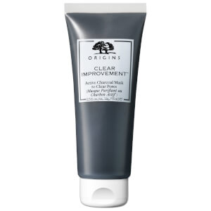 Máscara Purificante de Carvão Ativo para Limpeza dos Poros Clear Improvement da Origins 75 ml