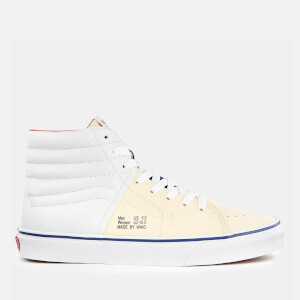 Vans Men's Outside in Sk8-Hi Trainers - Natural/Stv Navy/Red