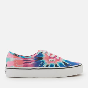 Vans Women's Tie Dye Authentic Trainers - Multi/True White