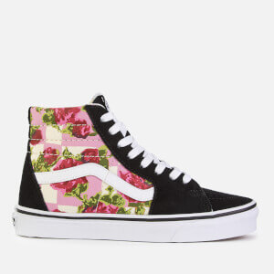 Vans Women's Romantic Floral Sk8-Hi Trainers - Multi/True White