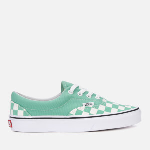 Vans Women's Checkerboard Era Trainers - Neptune Green/True White