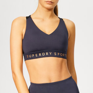 Superdry Sport Women's Active Studio Bra - Eclispe Navy
