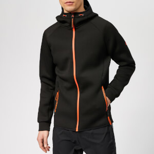 Superdry Sport Men's Gym Tech Stretch Zip Hoody - Black
