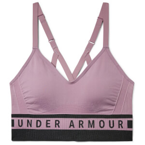 Under Armour Women's Seamless Longline Sports Bra - Purple