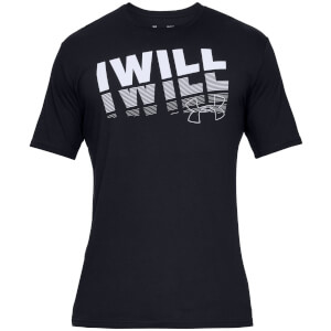 Under Armour I Will 2.0 T-Shirt - Black