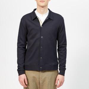 Oliver Spencer Men's Rundell Jersey Jacket - Parker Navy