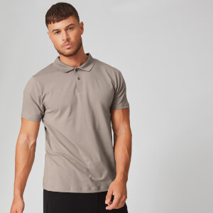 Myprotein Luxe Classic Polo Shirt - Quarry
