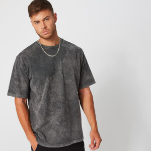 Acid Wash T-Shirt - Carbon