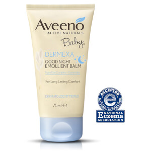 Aveeno Baby Dermexa Good Night Emollient Balm 75ml