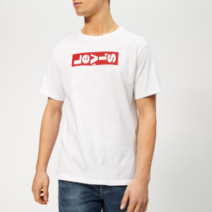 Levi's Men's Oversized Lazy Graphic T-Shirt - White