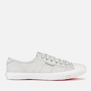 Superdry Women's Low Pro Canvas Trainers - Glacier Grey