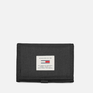 Tommy Hilfiger Men's Urban Tech Trifold Wallet - Black