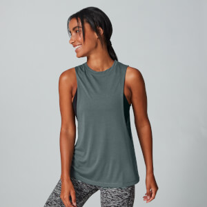 Drop Armhole Vest - Castle Rock