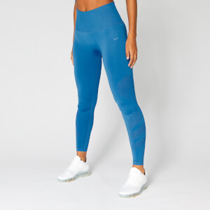 Myprotein Shape Seamless Leggings - Ibiza Blue