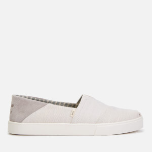 TOMS Men's Alpargata Slip-On Pumps - Natural