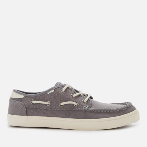 TOMS Men's Dorado Vegan Boat Shoes - Grey