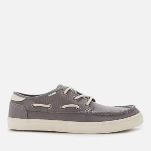 TOMS Men's Dorado Boat Shoes - Grey