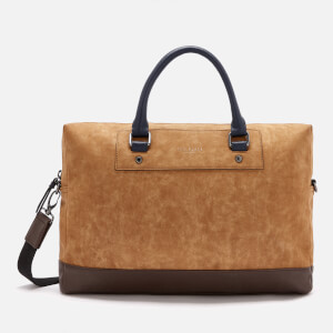 Ted Baker Men's Pitza Nubuck Document Bag - Tan