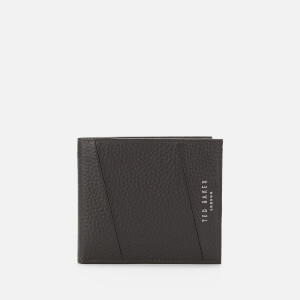 Ted Baker Men's Fiters Seamed Leather Bifold Wallet - Chocolate