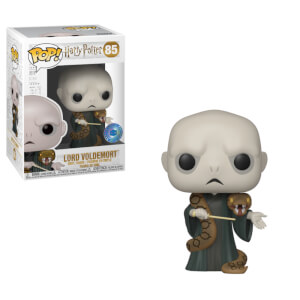 Figurine Pop! Voldemort avec Nagini Harry potter - Exclusivité PIAB