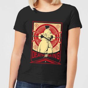 T-Shirt Flash Gordon Death To Ming - Nero - Donna