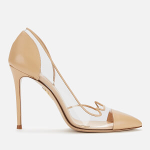 Charlotte Olympia Women's Kitty Court Shoes - Crumble/Transparent