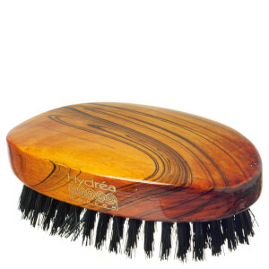 Hydrea London Military Hairbrush Gloss Finish with Pure Black Boar Bristle (Hard Strength) FSC Certified szczotka do włosów