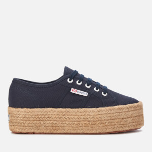 Superga Women's 2790 Cotropew Trainers - Navy