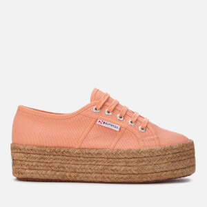 Superga Women's 2790 Cotropew Trainers - Peach Lt Tropical