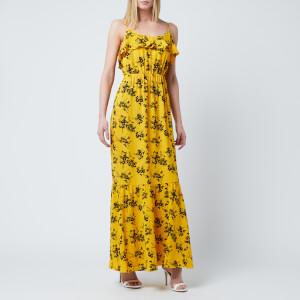 MICHAEL MICHAEL KORS Women's Bold Botanical Dress - Golden Yellow/Black
