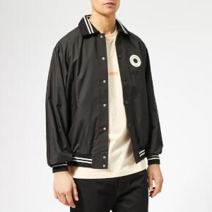 Drôle de Monsieur Men's NFPM Varsity Jacket - Black