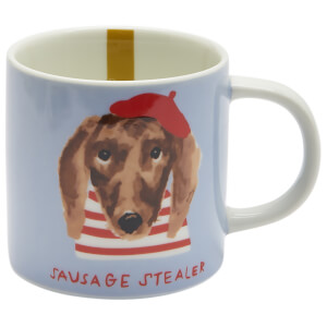 Joules Dog Mug - Blue