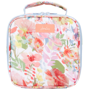 Joules Floral Picnic Lunch Bag - White