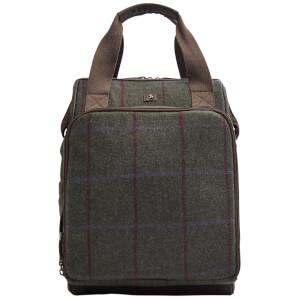 Joules Tweed Picnic Rucksack - Green