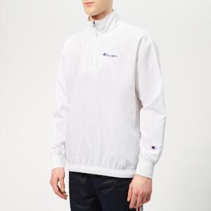 Champion Men's Half Zip Top - White