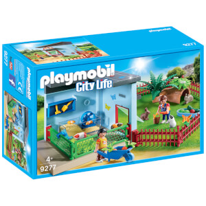 Playmobil City Life Small Animal Boarding with Hamster Wheel (9277)