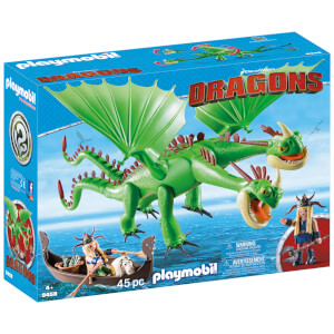 Playmobil DreamWorks Dragons Ruffnut and Tuffnut with Barf and Belch (9458)