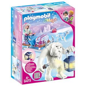 Playmobil Magic Yeti with Sleigh with Luminous Lantern (9473)
