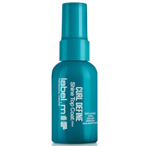 label.m Curl Define Shine Top Coat 50ml: Image 1