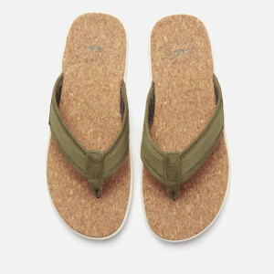 UGG Men's Seaside Flip Flops - Moss Green