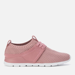 UGG Women's Willows Knitted Runner Style Trainers - Pink Dawn