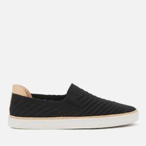 UGG Women's Sammy Chevron Slip-On Trainers - Black