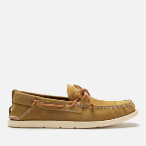 UGG Men's Beach Moc Slip-On Boat Shoes - Caramel