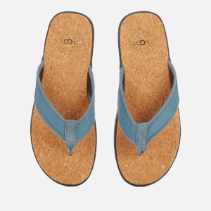 UGG Men's Seaside Flip Flops - Pacific Blue