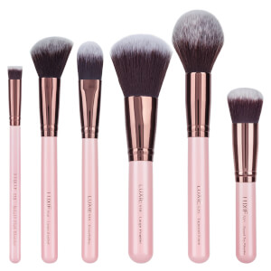Luxie Rose Gold Face Essential Brush Set (Worth $110)