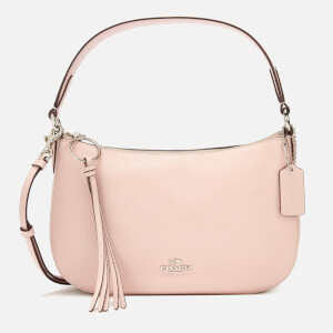 Coach Women's Polished Pebble Leather Sutton Cross Body Bag - Blossom