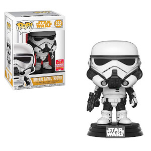Star Wars - Trooper Pattuglia Imperiale Figura Pop! Vinyl Esclusiva