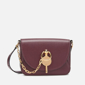 JW Anderson Women's Nano Key Bag - Burgundy