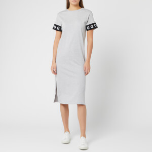 HUGO Women's Naepe T-Shirt Dress - Grey