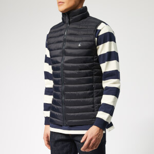 600828a1 Joules Men's Go to Gilet - Marine Navy